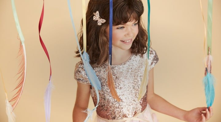 70% off all children's sale partywear