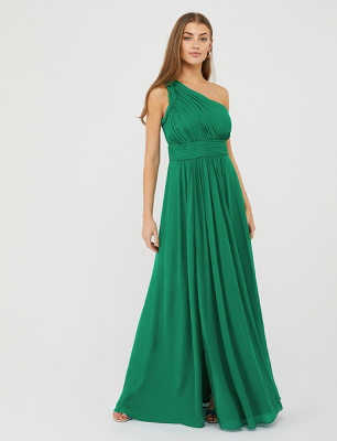 Dani one-shoulder occasion maxi dress